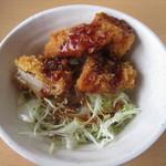 河京ラーメン館 - セルフのソースかつ丼