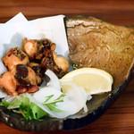 郷土料理 五志喜 - 地ダコの唐揚げ