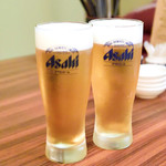郷土料理 五志喜 - 生ビール