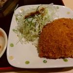 お食事処 田園 - 牛肉コロッケ