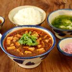 辺銀食堂 - 石ラー麻婆島豆腐