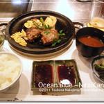 神戸 菊水 - 神戸牛ハンバーグランチ