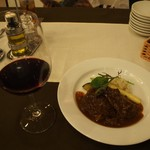 トラットリア ルチアーノ - 赤ワイン & 牛ホホ肉の赤ワイン煮