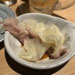 juubeiechigonojizakekakerujukuseibuta - 豚のせいろ蒸し