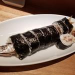 畔家 - 秋刀魚の太巻き(1,700円)