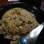 中華麺食堂 亀吉 - 半炒飯の大盛
