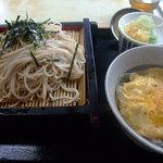 清水屋 - ざる&玉子丼セット