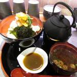 酒と肴 海鮮丼 海山 - 名物 海山まかない海鮮丼 松
