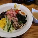 拉麺屋神楽 - 料理写真:冷やし中華(ゴマ)