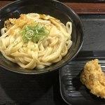 讃岐うどん大使 東京麺通団 - かまたま大496円 かしわ天108円