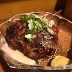 とりじん - 地鶏ミンチのハンバーグ