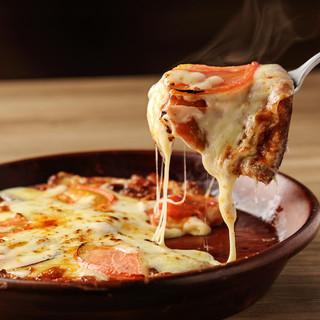 濃厚×トロトロチーズがたっぷり!ピッツァ