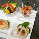 ロシナンテ2世 - 土日祝日は特別ランチコース(前菜)