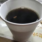 舒服 - セルフのホットコーヒーもいただいて1000円ですよ!(2018.9.6)