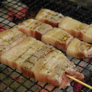 【食べたら驚く!この旨さ!】糸島豚の大判豚バラ串