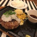 熟成牛ステーキ専門店 Gotties BEEF - 京風ポン酢ハンバーグ
