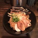 煮干そば 藍 - 料理写真:煮干油そば(並)200g 700円