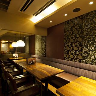 【④8~12名様用完全個室】テーブル席の完全個室