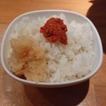 絶の味 - 明太子&おろし大根(嘘)