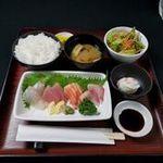鮮魚のお刺身定食
