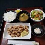 【人気NO1!】鶏の塩焼き定食