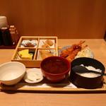 うちの食堂 - 具だくさんタルタルのエビフライ御膳