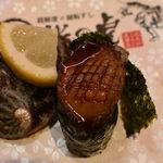 92272493 - 「北九州あわびステーキ寿司」