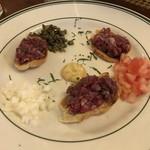 92272924 - 「Steak Tartar(タルタルステーキ)」$7.00