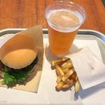 92273391 - the 3rd Burger +Mセット、麦酒変更で1164円