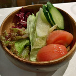 シュガーキューブ - ランチのサラダ