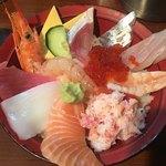 海鮮丼いちば - 旬のおまかせ丼 (´∀`)/