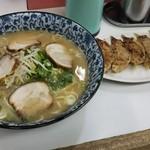 三久ラーメン - 大盛ラーメン&餃子♪