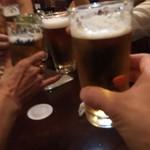92274201 - 先ずは乾杯♪ ここから愉しい愉しい「酔いの夜」の始まりである。皆々、0次会から既にフルスロットル。遠慮やら気遣いは無用な雰囲気に、この時点ではもう、安心感が先行し始める。