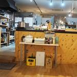 和食ダイニング 拓 - 奥のキッチン。