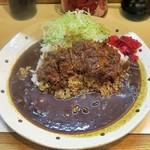 キッチン南海 - 料理写真:カツカレー(大盛り)¥700