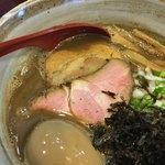 麺屋 照の坊 - 味玉濃厚煮干しそば ¥950