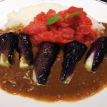 サンマルコ - イタリアントマトとナスビのカレー