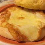 92278678 - 表面の焦げたチーズ                       中にもチーズはいってる