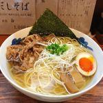 menyainoichi - 和牛そば 『白』てか スープの透明度が半端ゎない(*゚∀゚*)❤️