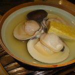 Nuku - 蛤の酒蒸し