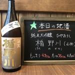 くま男爵 - 本日の地酒
