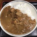 じゃがいも亭 - 味自慢カレー(サラダ付) ¥700 の味自慢カレー