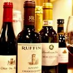 パティオ - おひとり様でも飲み切りやすいハーフボトルワインを各種取り揃えました!