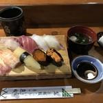 魚城 - 料理写真:上にぎり=1500円 税別