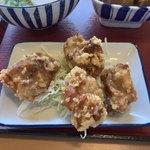 Kyoutokameokashokudou - ●鶏肉のからあげ270円税込