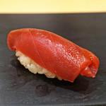鮨 はしもと - 大間産の鮪の赤身