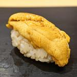 鮨 はしもと - 北海道産 ムラサキ雲丹