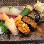 玄海鮨 - 松にぎり 俯瞰