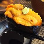 玄海鮨 - ウニです