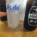 立呑みもつ焼処 柏二丁目酒場 - 中のお替わり(2018.7.29)